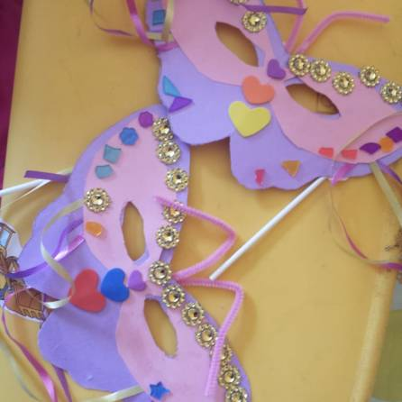 Masks that the Children made