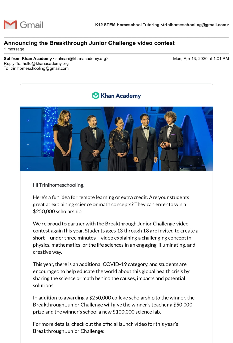 Gmail - Announcing the Breakthrough Junior Challenge video contest-1